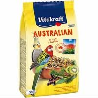 VITAKRAFT AUSTRALIAN COCKATIELS Pakan Burung Parkit Besar Australia