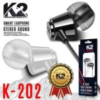Headset K2 Stereo sound bass