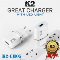 Adapter K2 With led premium quality
