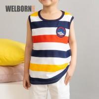 Welborn Kids Kaos Oblong Salur Tank Top Marcel