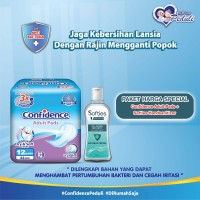 Confidence Adult Pads Light Inco & Softies Hand Sanitizer