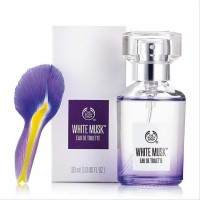 The body shop white musk eau de toilette (kemasan baru) EDT 30 ml
