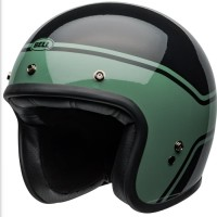Bell Custom 500 Streak Green