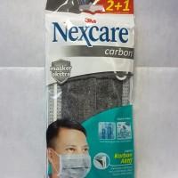 Masker nexcare carbon 3M / masker kesehatan multifungsi antivirus