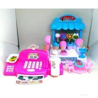 LI03 Mainan Edukasi Anak - Ice Cream Store MURAH Cash Register Kasir