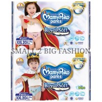mamypoko pants royal soft xxl 20 xxl20 boy girl celana extra soft