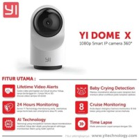[GARANSI] Xiaomi Yi Dome X CCTV IP Camera 1080P HD Internasional Ver