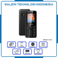 Strawberry ST22 | Handphone Candybar HP Murah Kamera Bluetooth 16GB
