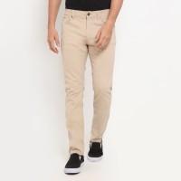 TRIPLE Celana Panjang (255 828 KHY) Slim Fit - Khaki