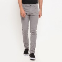 TRIPLE Celana Panjang (255 828 LGR) Slim Fit - Light Grey