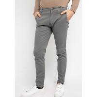 TRIPLE Celana Panjang Chinos (268 828 GRY) Slim Fit