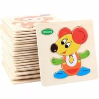 Puzzle anak pazzle kayu mainan anak