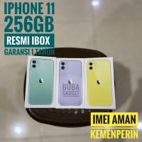 IPHONE 11 256GB GARANSI RESMI IBOX/INDO PA/A - Ungu