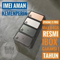 iPhone 11 Pro Max 64 Gb Garansi Resmi Ibox Indonesia PA/A