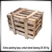 Extra Packing Kayu Untuk Berat Barang 20 - 30 Kg