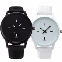 SEMIKO 160 Jam Tangan Wanita Silikon Polos Elegan Korea Watch Impor