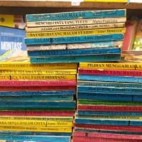 Buku novel jadul terjemahan Anne hampson ,anne mather pilihan random