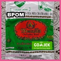 Terlaris Thai Green Tea Merk Number One Chatramue Isi 200 Gr