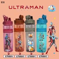 SE 08 Botol Minum Custom Nama / Print UV / Ultraman