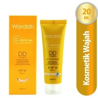 Wardah C-Defense Dd Cream Natural 20Ml / Face Foundation / Alas Bedak