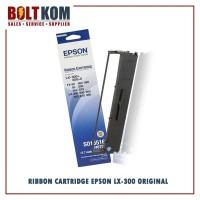Ribbon Catridge Epson Dotmatrix LX-300+ / LX-300+II S015516 Original
