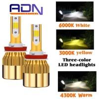 LAMPU LED Fog Lamp 3 Warna MURAH By. ADN SEPASANG