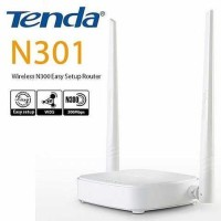 Tenda N301 300 Mbps Wireless Router + Wifi Repeater / Extender