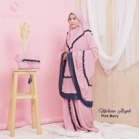 Mukena bali Mukena polos Mukena terbaru Valdya Aisyah PinkBerry