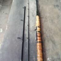 joran bambu cendani sambung 3 bahan carbon panjang 150cm