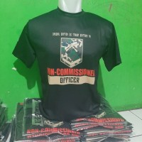 Kaos Almamater Bintara PK TNI AD Limited Edition Bahan Katun