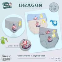 CD Celana Dalam Anak Laki Sorex Kids SK GM 602 Termurah Terlaris