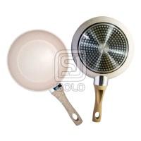 Super Pan BOLDe Panci Granite Series Cookware Set SuperPan Set Beige