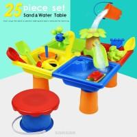 25pcs Plastic Summer Shovel Outdoor Games Kids Gift Sandglass Play
