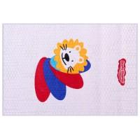 Lusty Bunny Perlak Sablon Lion Biru 55cm x 80cm