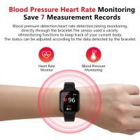 Olahraga B57 Smartwatch Tahan Air dengan Monitor Detak Jantung untuk