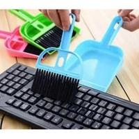 FaFa15 Sapu Serok Cikrak Mini Set Pengki Pembersih Keyboard Dustpan