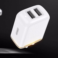 Plug USB 12W 5V 2.4A Dual USB Wall Charger Power Travel Adapter