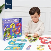 Mideer My First Puzzle Number Story 1 2 3 4 5 Montessori Mainan Murah