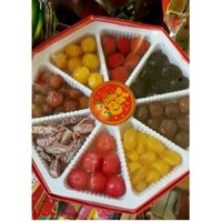 Makanan Instan Manisan Buah Campur Preserved Fruits Imlek China