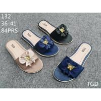 Sandal-selop-slip on -trompa-wanita kekinian-karet-terbaru-murah