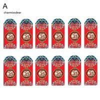 12Pcs Amplop Angpao Imlek / Tahun Baru Cina Bentuk Amplop Motif B