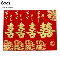 6Pcs / Set Amplop Angpao Imlek / Tahun Baru Cina / Imlek / Tahun