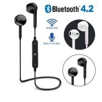 Earphone Sport Wireless Bluetooth 4.2 dengan Mic untuk iPhone