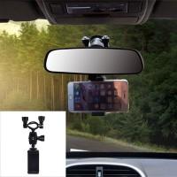 Spion Mobil Stand Holder Handphone / GPS Universal Portable Kualitas