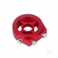 CS M20 x 1.5 Plat Adapter Penyaring Minyak Bahan Aluminium 1 / 8 NPT