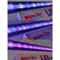 Lampu Aquarium Nikita Star NS 601 Dengan 3 Mode Warna Lampu
