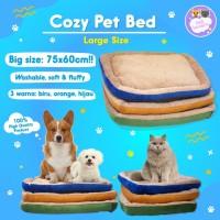 Kasur Anjing Kucing Pet Bed Tempat Tidur Rumah Hewan Dog Besar Large