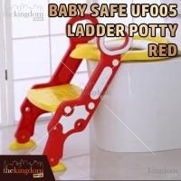 Terpopuler ! Baby Safe UF005 Step Ladder Potty Red Kursi Toilet