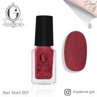 Best Seller Madame Gie Nail Peel Off Shell Calm Series (Satuan) - Ns09