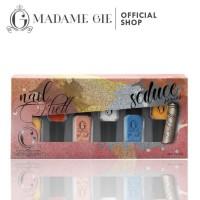Best Seller Madame Gie Nail Shell Peel Off 1 Set (Isi 6 Botol) -